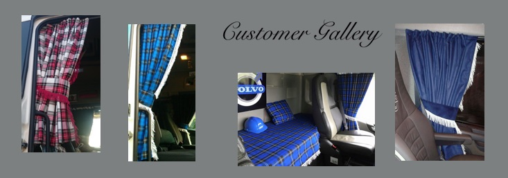 We Are A Lancashire Based Manufacturing Company That Specialise In The Production Of Custom Made TRUCK VAN Curtains Pelmets Bed Throws And Accessories